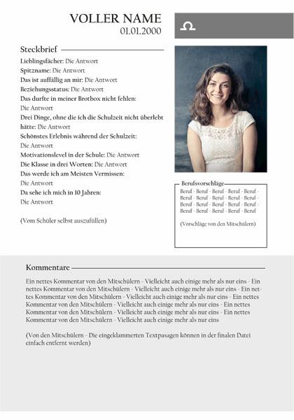 Abizeitung Steckbriefe Wollen Alle Lesen Jilster Blog 10